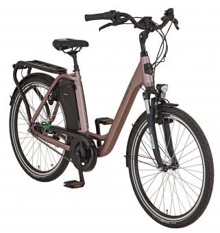 "Prophete Elektrofahrrad / E-Bike Geniesser e9.7 City E-Bike 26"" grau Bild 3"