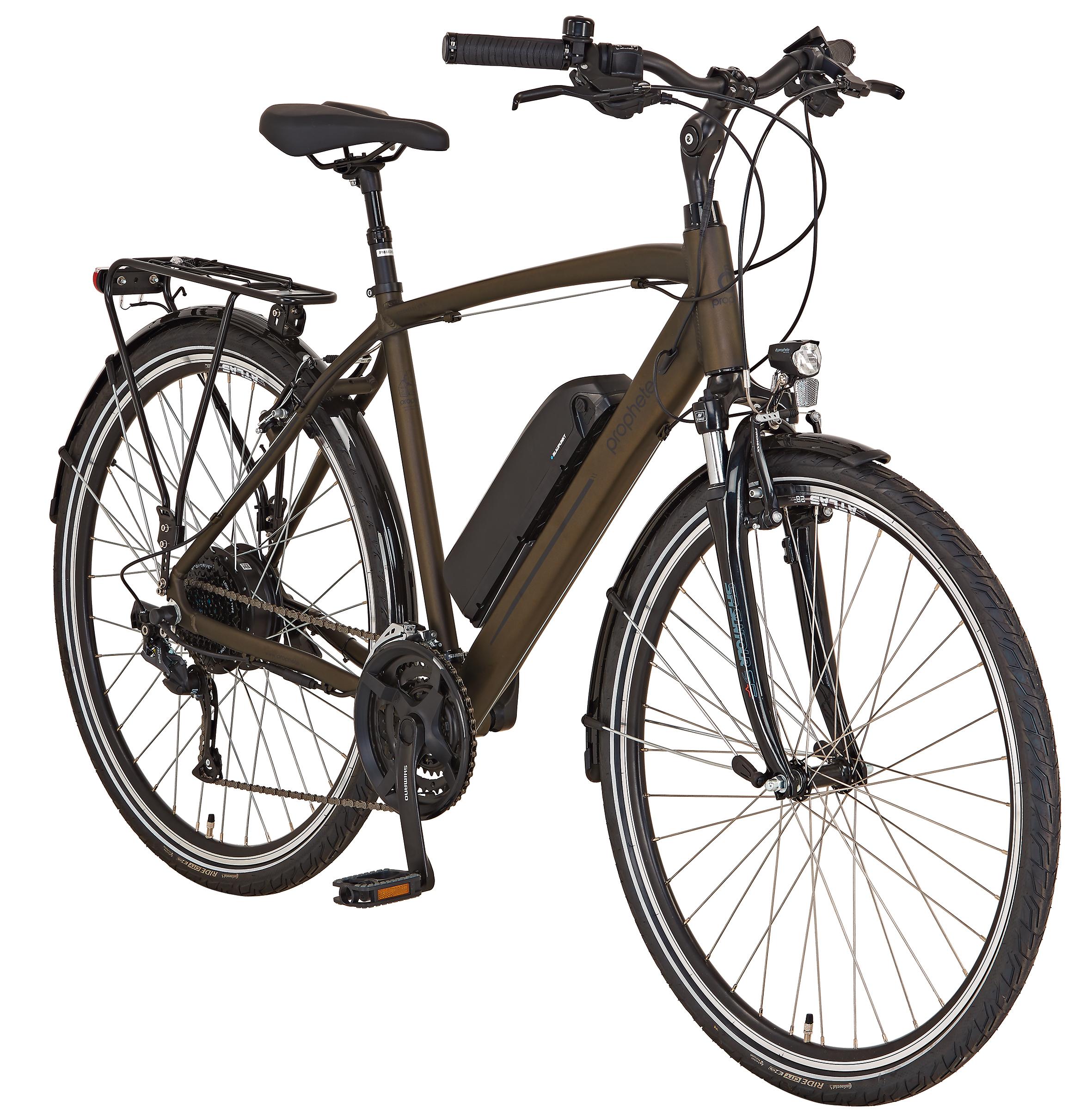 """Prophete Elektrofahrrad / Trekking E-Bike Entdecker e9.6 28"""" Herren Bild 2"""
