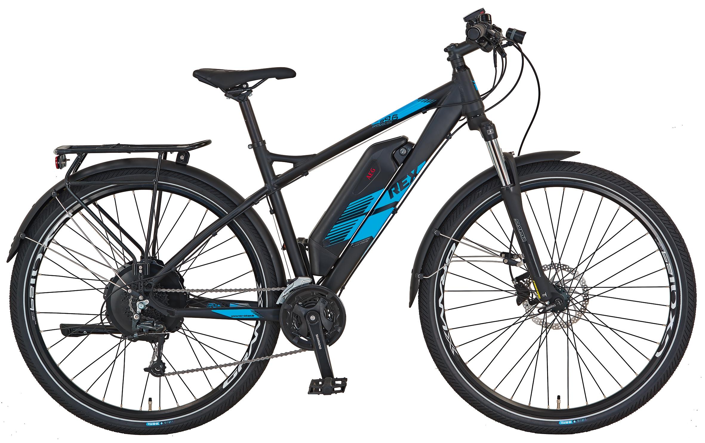 "Rex Bike Elektrofahrrad / E-All Terrain Bike Graveler e9.6 E-ATB 29"" Bild 1"