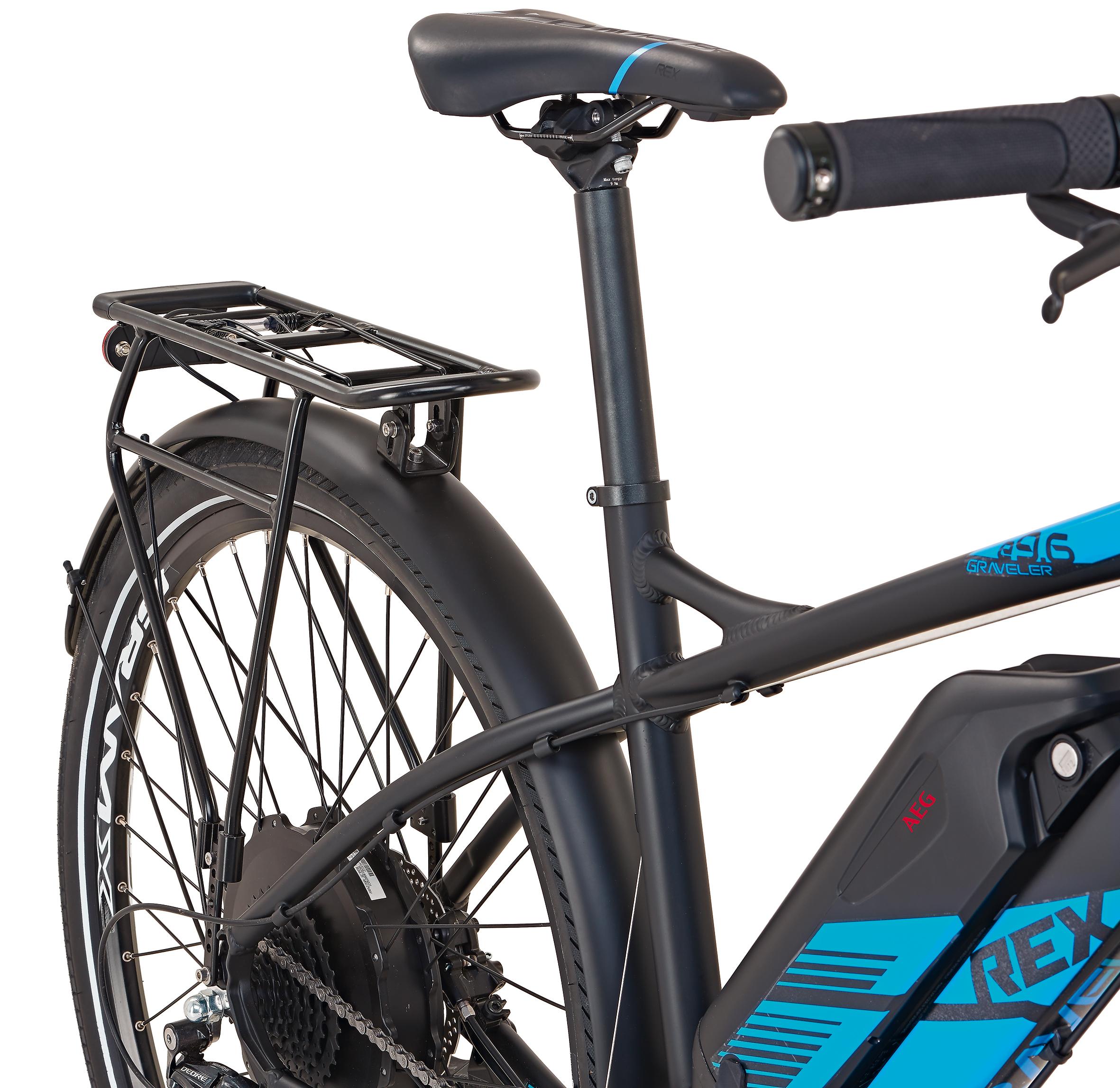 "Rex Bike Elektrofahrrad / E-All Terrain Bike Graveler e9.6 E-ATB 29"" Bild 5"