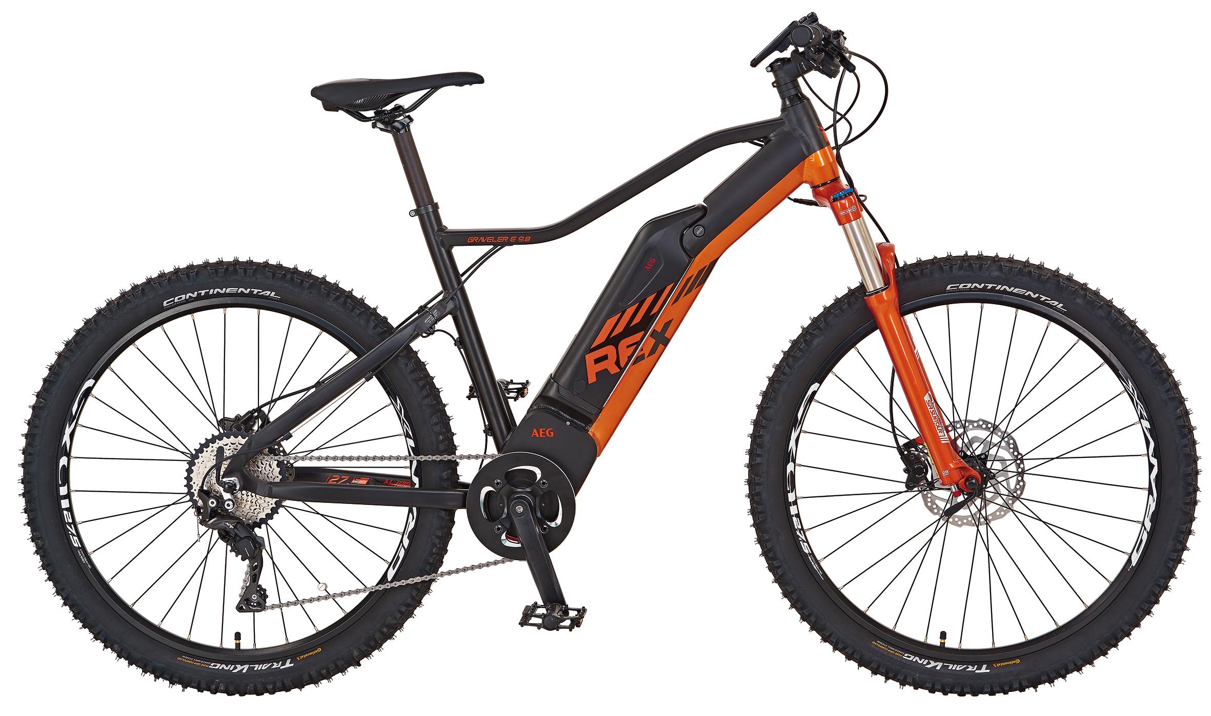 "Rex Bike Elektrofahrrad / E-Mountainbike Graveler e9.8 E-MTB 27,5"" Bild 1"