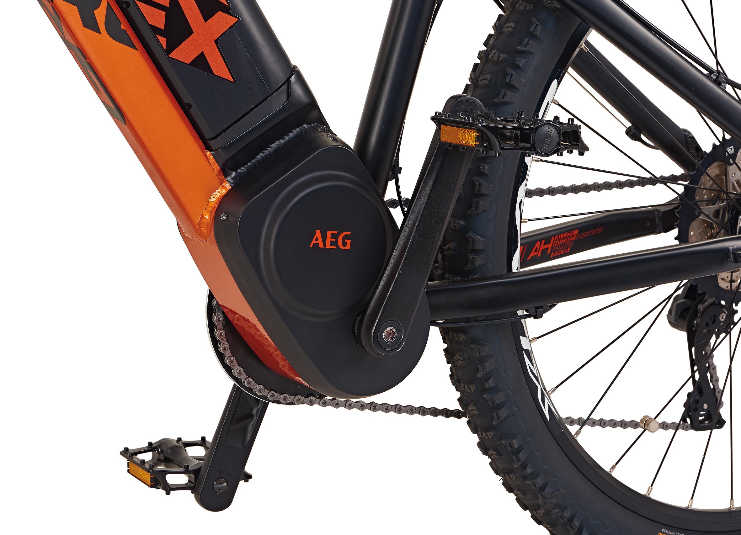 "Rex Bike Elektrofahrrad / E-Mountainbike Graveler e9.8 E-MTB 27,5"" Bild 3"
