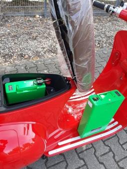 Batterie Akku Accu Lithium 60Volt 20AH für Elektroroller E-Roller Bild 4