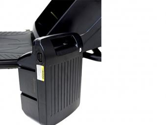 Chopper, Elektroroller, E-Roller 1500/25/3.0 schwarz-weinrot glänzend Bild 5