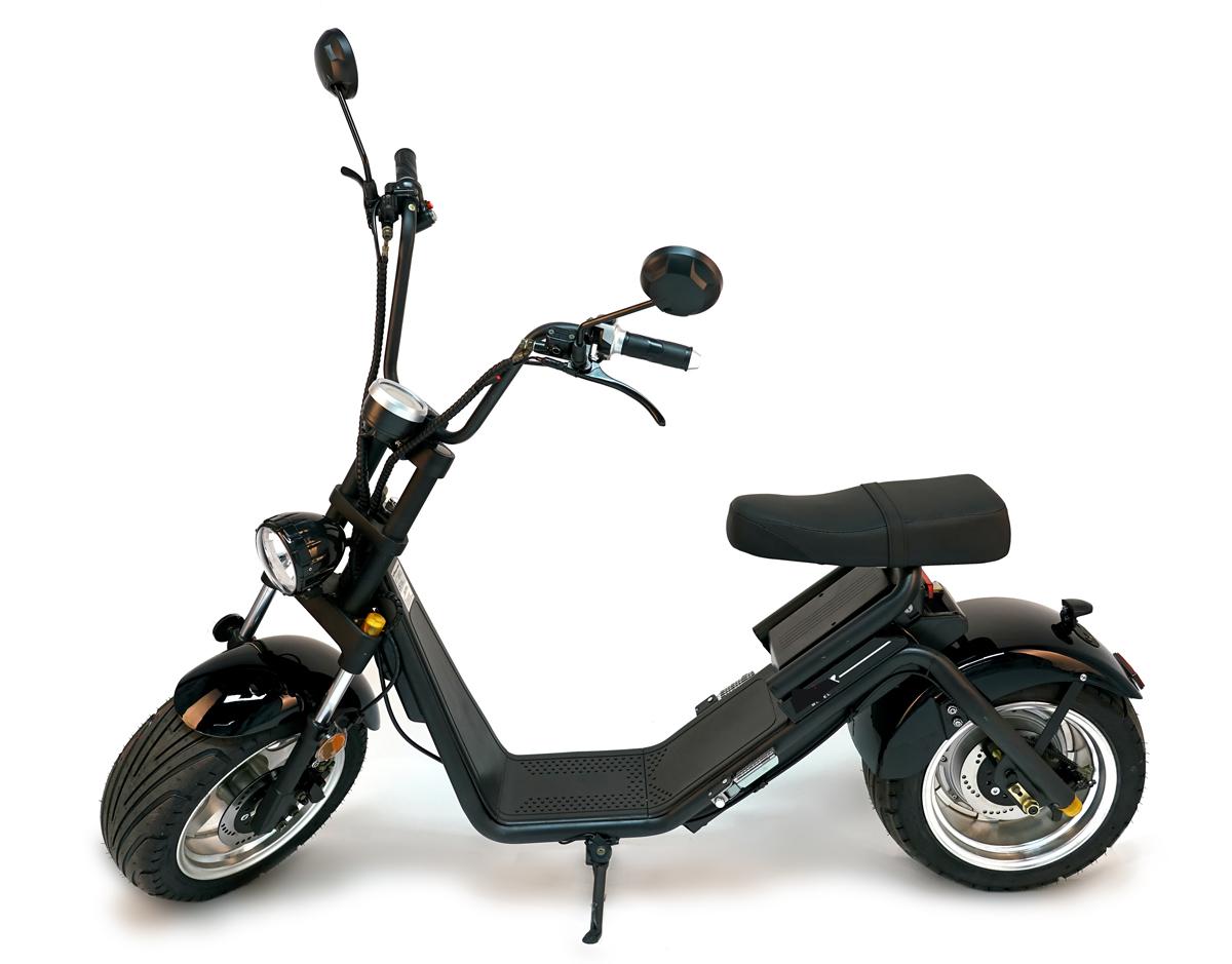 Citi Cruiser 1200L Elektro Scooter Chopper City-Scooter schwarz grau Bild 7