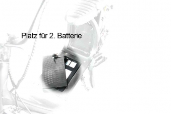 CityCoco Elektroroller Elektrochopper Harley CP1-120 rot-glanz Bild 4