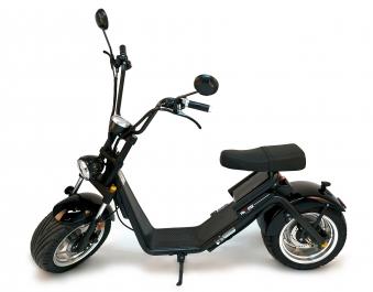 Elektro Roller 50 E Nova Motorroller Mofa Moped Lithium schwarz Bild 9