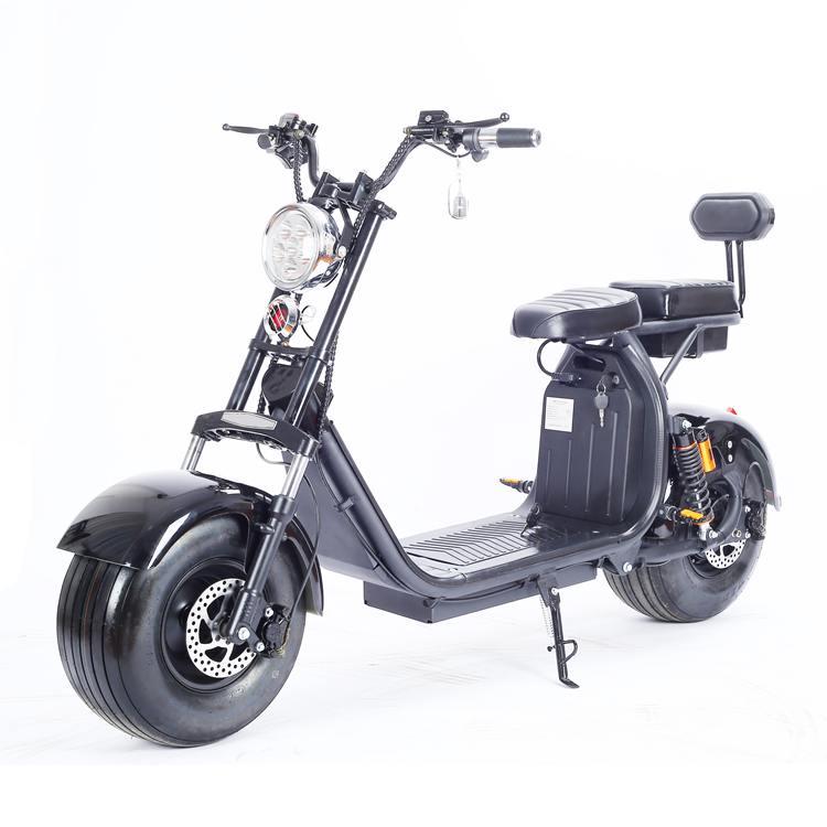 Elektromoped Elektroroller E-Roller Harley CP1-120 schwarz Bild 1