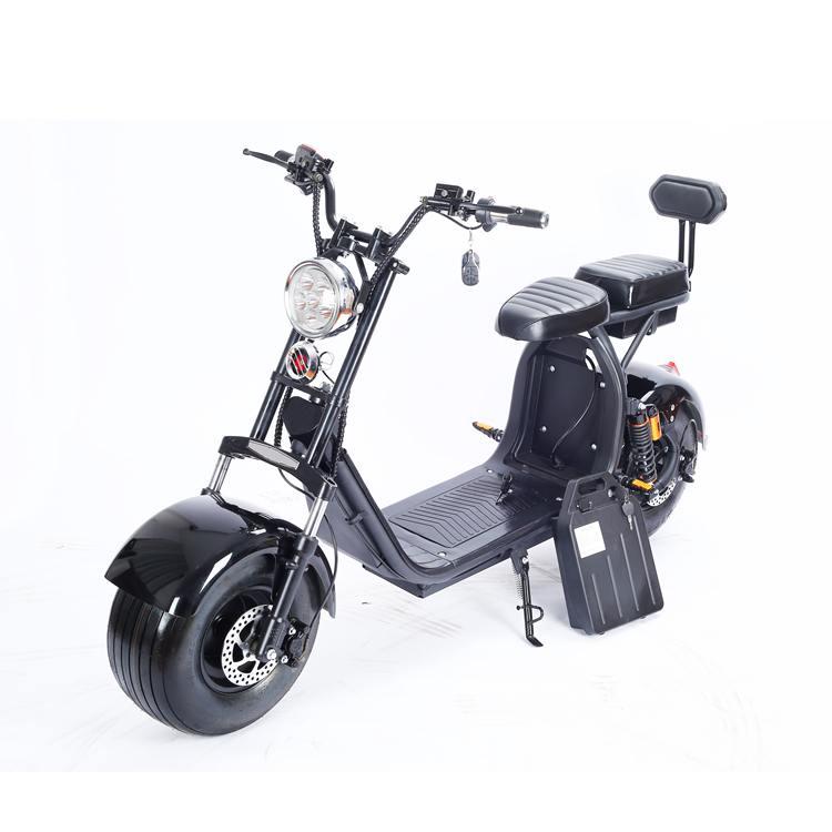 Elektromoped Elektroroller E-Roller Harley CP1-120 schwarz Bild 3