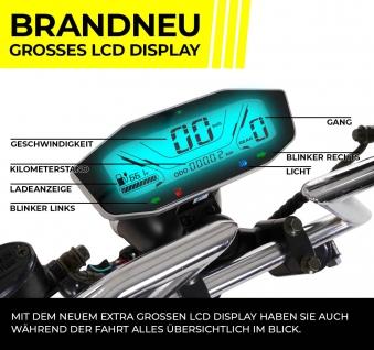 Elektromoped Elektroroller E-Roller Harley CP1-120 schwarz Bild 2