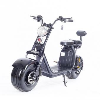 Elektromoped Elektroroller E-Roller Harley CP1-120 schwarz Bild 4