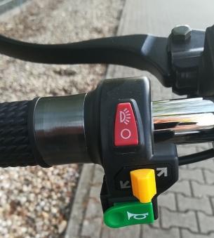 Elektromoped Elektroroller E-Roller Harley CP1-120 schwarz Bild 7