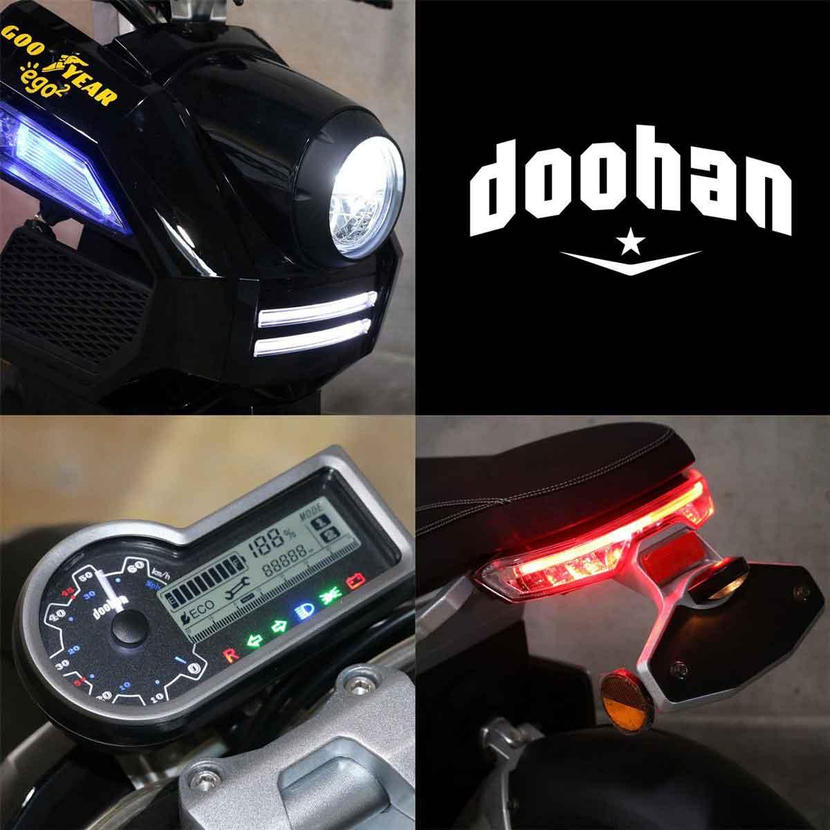 Elektroroller 3 Rad Dohhan i Tank Goodyaer Ego 2 Bild 4