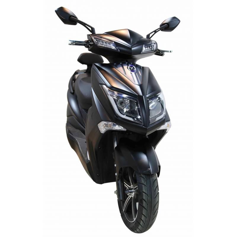 Elektroroller / E-Roller Hawk 3000 LI mattschwarz Lithium-Akku 3000W Bild 1