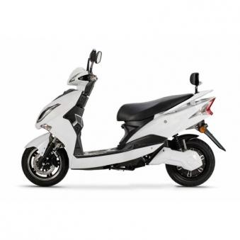 Elektroroller / E-Roller Hawk 72/3 LI weiß Motorroller Bild 3