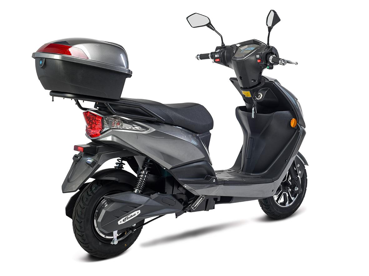 Elektroroller, E- Roller, Motorroller Siegurd1 grau 2000, 45km/h Bild 5