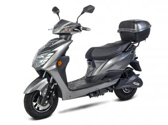 Elektroroller, E- Roller, Motorroller Siegurd1 grau 2000, 45km/h Bild 1
