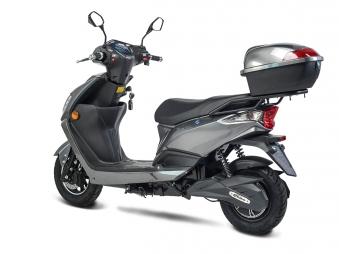 Elektroroller, E- Roller, Motorroller Siegurd1 grau 2000, 45km/h Bild 4