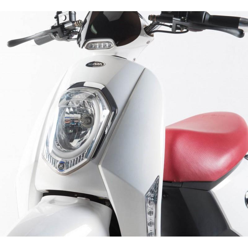 Elektroroller Elettrico 45Km h Li Akku weiss Bosch Motor Bild 5
