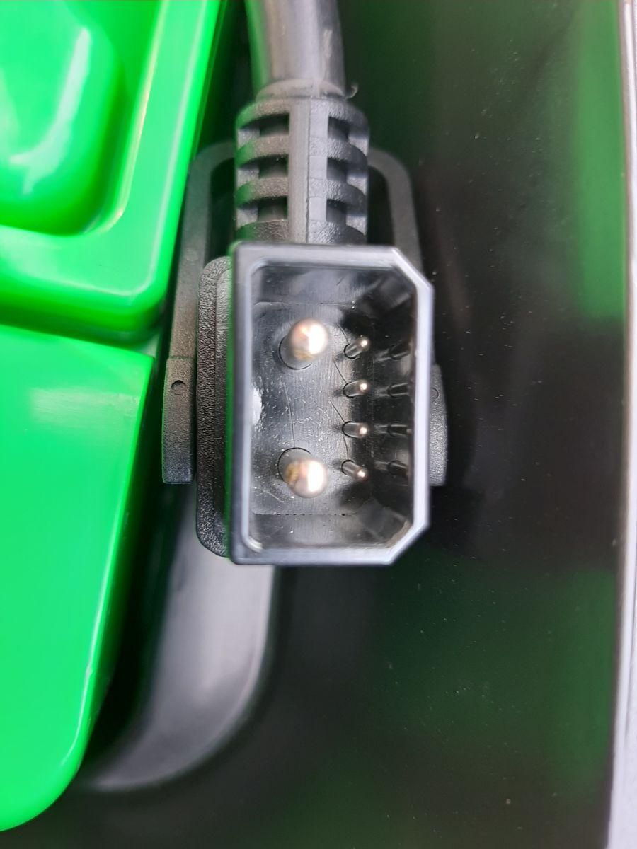 Elektroroller Retro 45KM/h Ginabella 2800-60 grau Gepäckträger und Box Bild 9