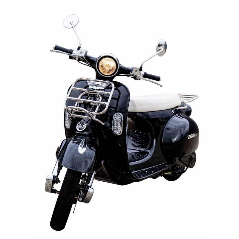 Elektroroller Retro 72 / E-Roller Ginabella Classico 3000 schwarz Bild 2