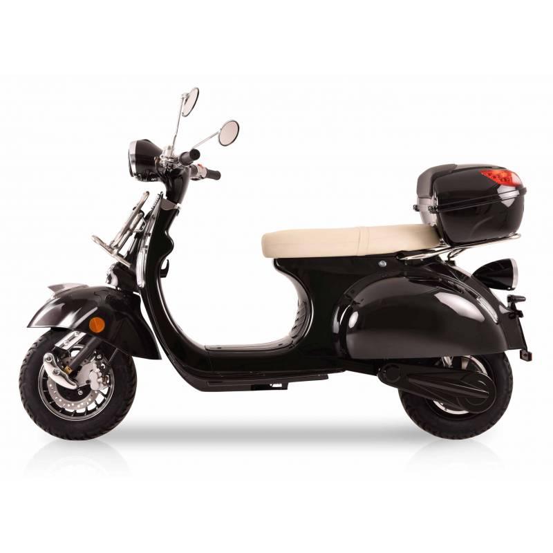 Elektroroller Retro 72 / E-Roller Ginabella Classico 3000 schwarz Bild 3