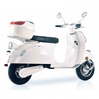 Elektroroller Retro 72 / E-Roller Ginabella Classico 3000 weiss Lithiu Bild 4