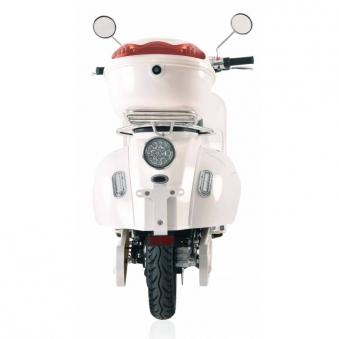 Elektroroller Retro 72 / E-Roller Ginabella Classico 3000 weiss Lithiu Bild 5