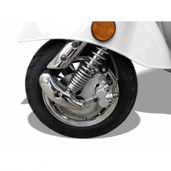 Elektroroller Retro 72 / Elektro-Roller Ginabella Classico 3000 grau Bild 5
