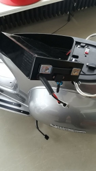Elektroroller Retro 72 / Elektro-Roller Ginabella Classico 3000 grau Bild 7