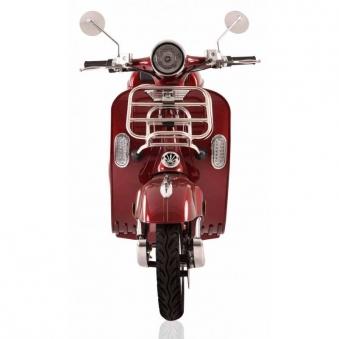 Elektroroller Retro 72 / Motorroller Ginabella Classico rot Lithium Bild 2