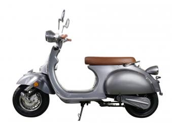 Elektroroller Retro Ginabella - 2000H / E - Motorroller 45Km/h grau Bild 1