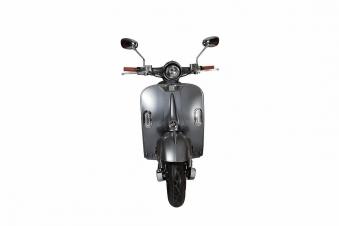 Elektroroller Retro Ginabella - 2000H / E - Motorroller 45Km/h grau Bild 4