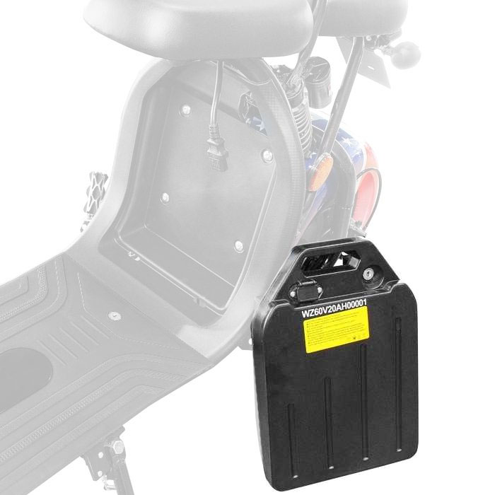 Ersatz-Batterie 60V 20AH für Elektroroller E-Chopper Harley CP1 Bild 1