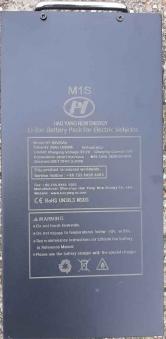 Ersatz-Batterie für Elektroroller Mr. Harley C9 Chopper 60V 20AH Bild 2