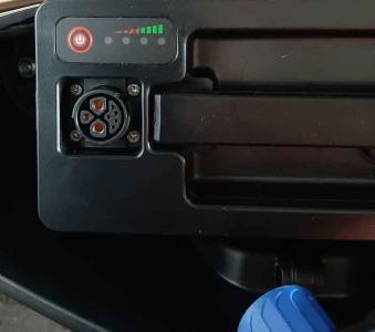 Ersatzakku 72V 20 AH Lithium Rundstecker edimove Modena_ Angry_Hawk Bild 1