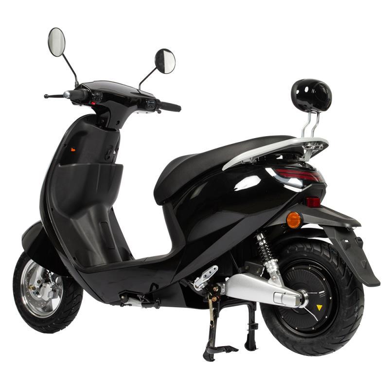 Motorroller Elektroroller 45Km/h Unisex2-26 Lithium Batterie schwarz Bild 2
