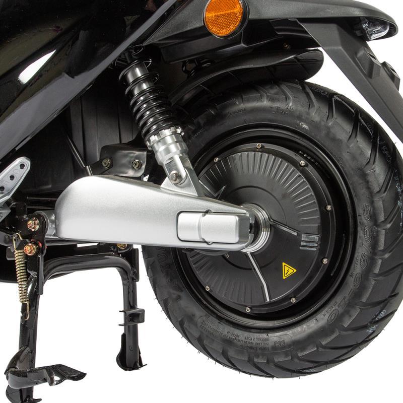 Motorroller Elektroroller 45Km/h Unisex2-26 Lithium Batterie schwarz Bild 6