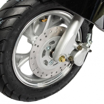 Motorroller Elektroroller 45Km/h Unisex2-26 Lithium Batterie schwarz Bild 5