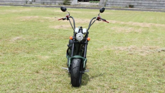 Mr.Harley C9-2.0 Elektrochopper Elektroroller City Scooter grün Bild 3