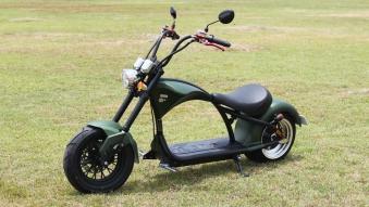Mr.Harley C9-2.0 Elektrochopper Elektroroller City Scooter grün Bild 4