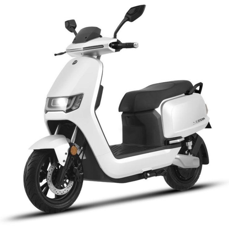 125er Elektroroller 80KM h Speedy 2.0 weiss Motorroller Bild 1