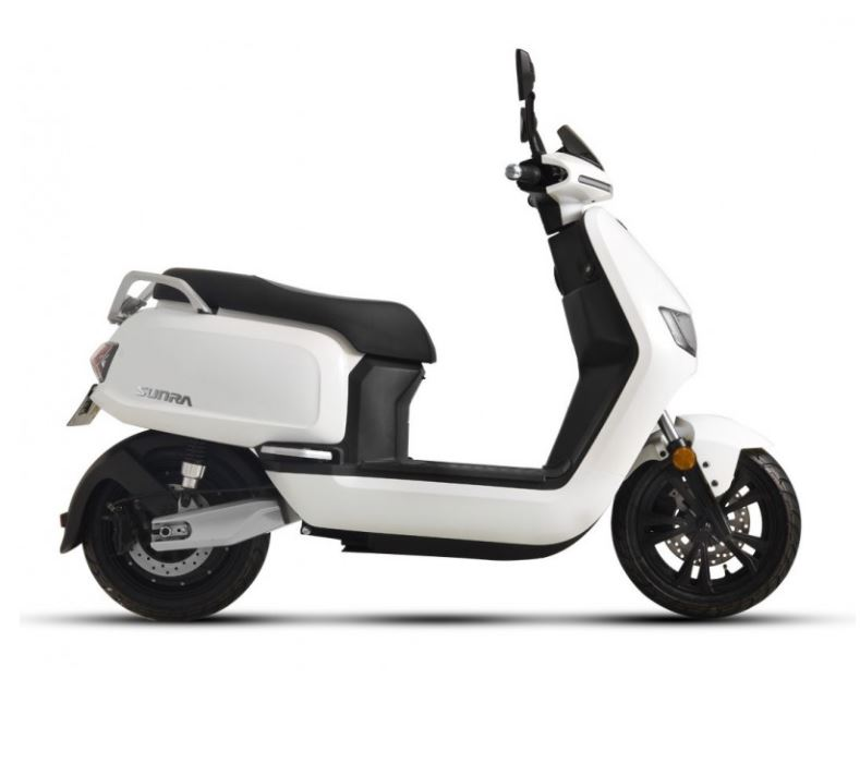 125er Elektroroller 80KM h Speedy 2.0 weiss Motorroller Bild 3