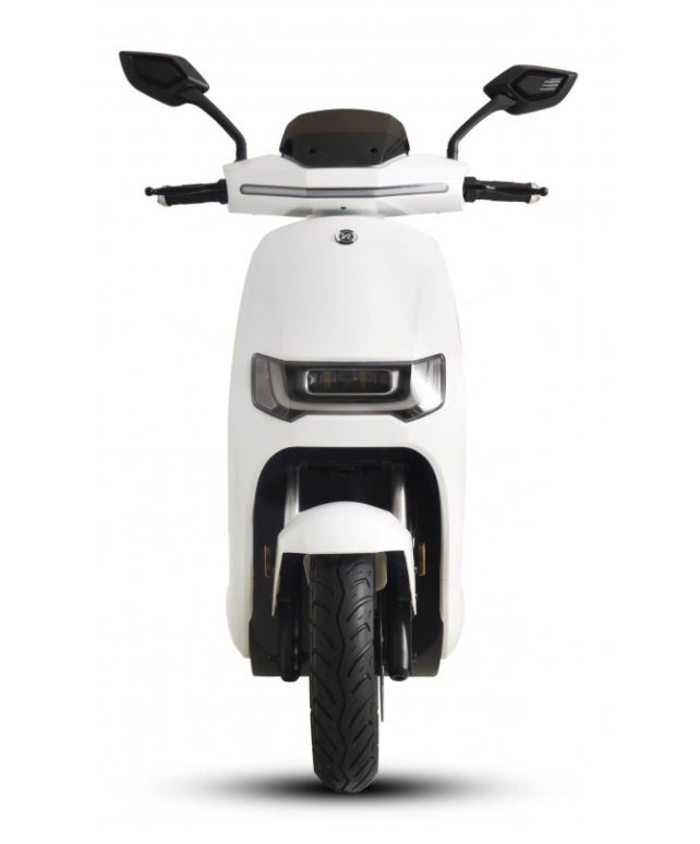 125er Elektroroller 80KM h Speedy 2.0 weiss Motorroller Bild 4