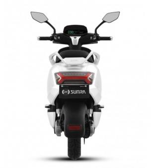 125er Elektroroller 80KM h Speedy 2.0 weiss Motorroller Bild 5