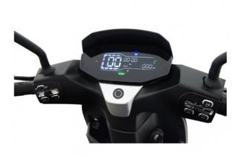 Elektroroller 80KM h Speedy 2.0 125er Elektro-Roller schwarz Bild 3