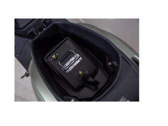 Elektroroller Retro Modern Efo ET4000 80Km/h LI military mattgrün Bild 2