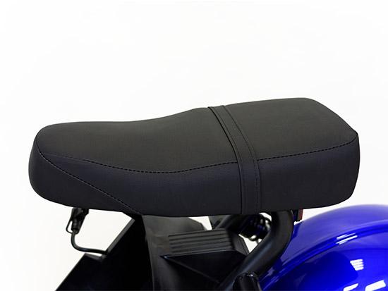 Chopper, Elektroroller, E-Roller 1500/25/3.0 schwarz-weinrot glänzend Bild 4