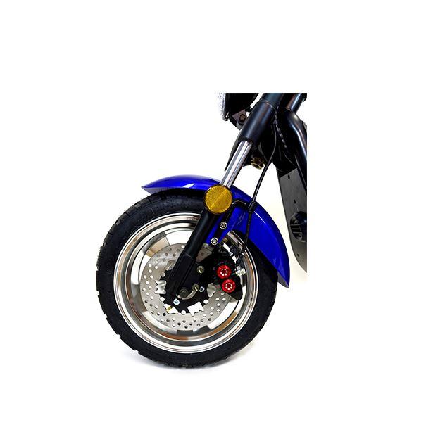 Chopper, Elektroroller, E-Roller 1500/25/3.0 sw-mattrot Bild 6