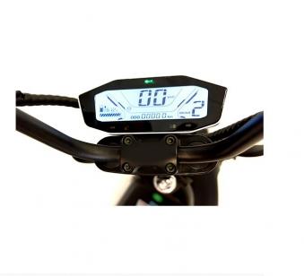 Chopper, Elektroroller, E-Roller 1500/25/3.0 sw-mattrot Bild 4